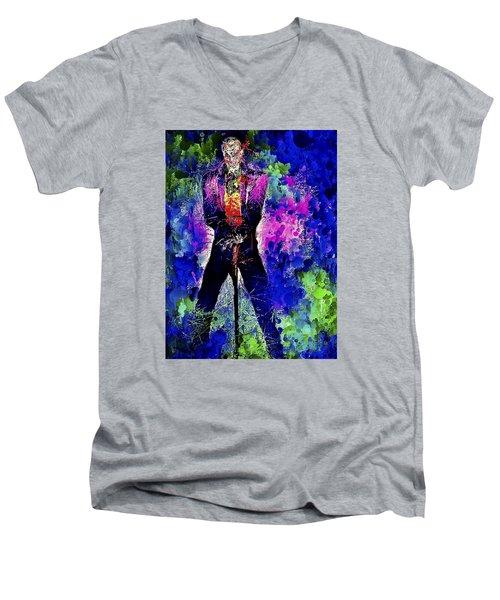 Joker Night Men's V-Neck T-Shirt