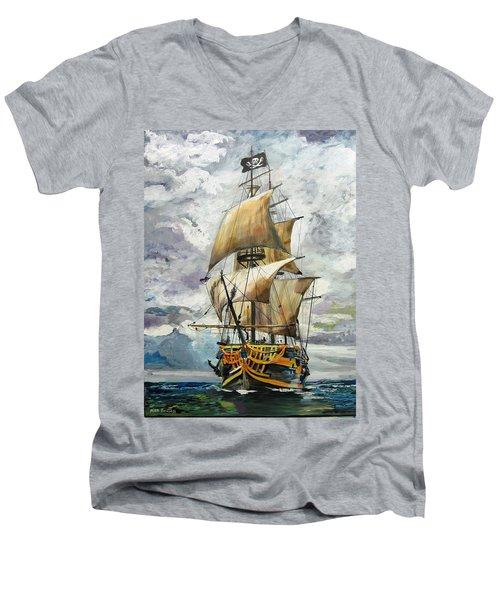Jolly Roger Men's V-Neck T-Shirt