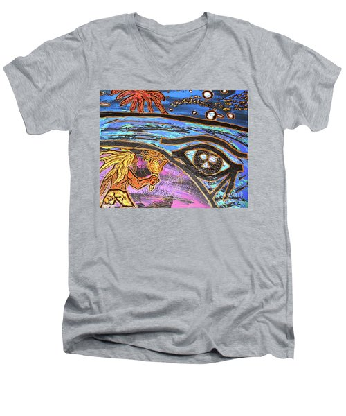 Jonah One Of Those Days Men's V-Neck T-Shirt