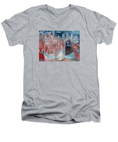 Jonah  Men's V-Neck T-Shirt