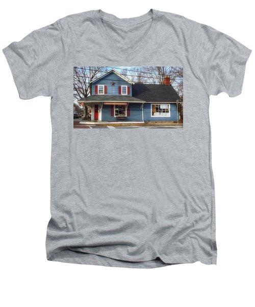 Jones Hardware, A Pequannock Legend Men's V-Neck T-Shirt