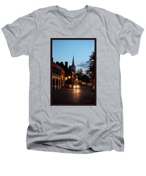 Jonesborough Tennessee 10 Men's V-Neck T-Shirt