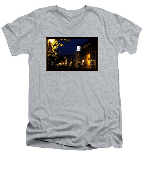 Jonesborough Tennessee 13 Men's V-Neck T-Shirt by Steven Lebron Langston