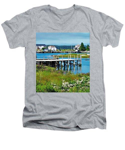Jonesport Men's V-Neck T-Shirt