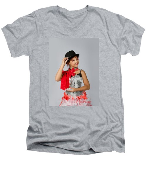 Jordan In Plastic Cup Can Can Dress Men's V-Neck T-Shirt