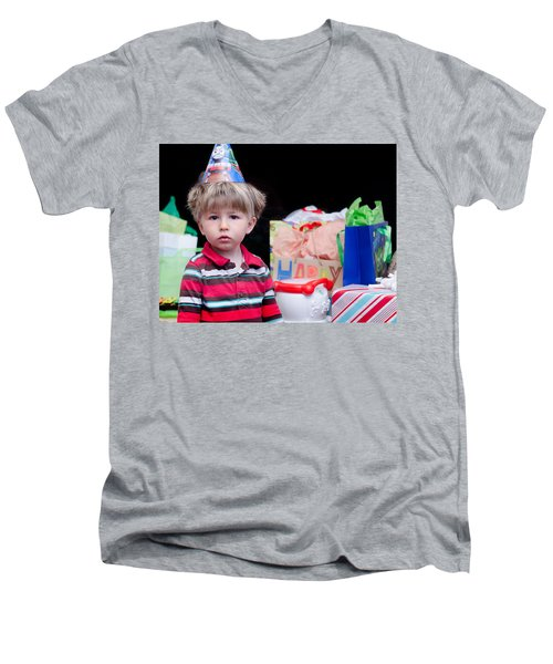 Joseph 3  Men's V-Neck T-Shirt
