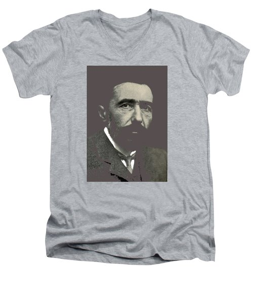 Joseph Conrad George Charles Beresford Photo 1904-2015 Men's V-Neck T-Shirt by David Lee Guss