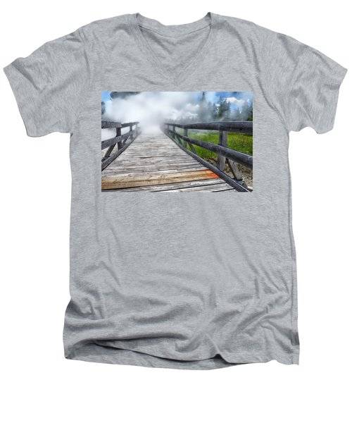 Journey Into The Unknown Men's V-Neck T-Shirt