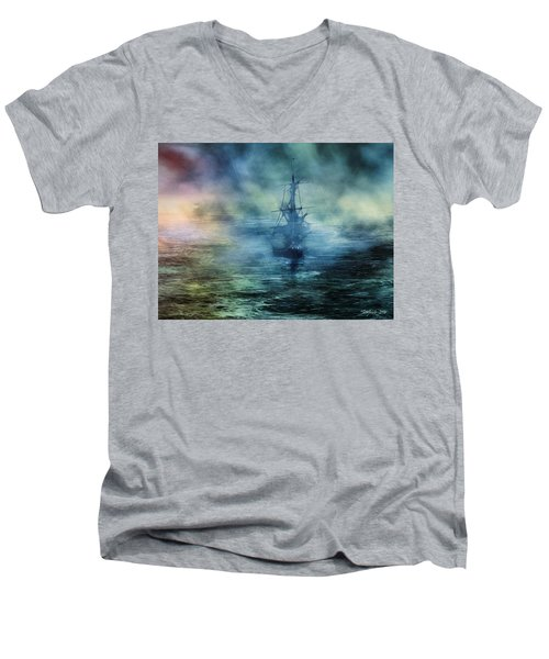 Journey To The Uknown II Men's V-Neck T-Shirt