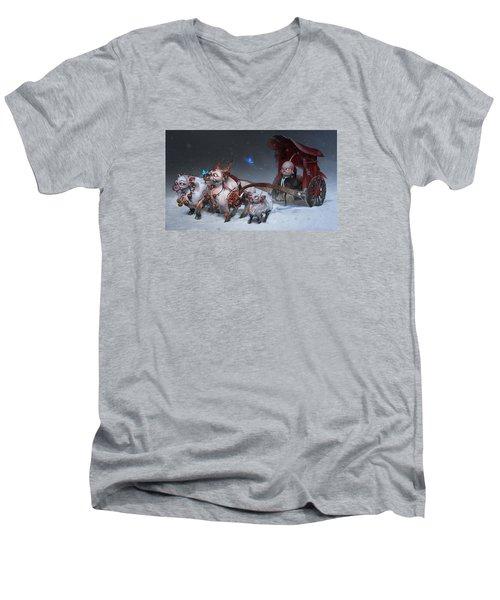 Journey To The West Men's V-Neck T-Shirt