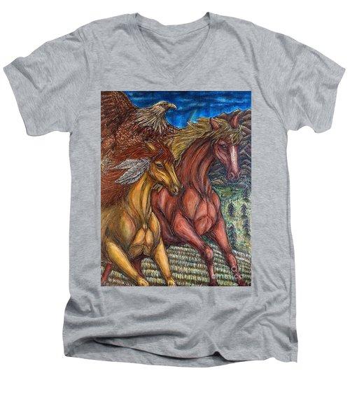 Journey Together Men's V-Neck T-Shirt
