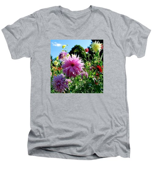 Joy Is In The Air  Men's V-Neck T-Shirt