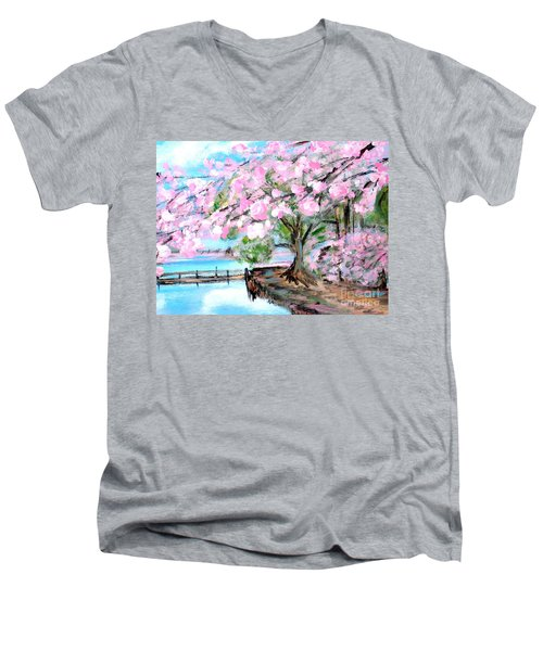 Joy Of Spring. For Sale Art Prints And Cards Men's V-Neck T-Shirt