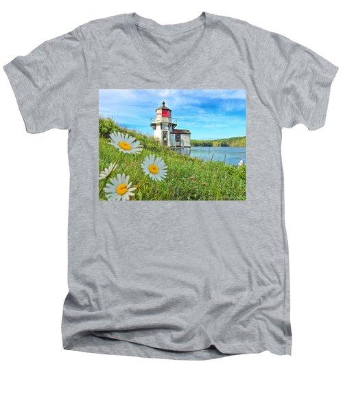 Joyful Light Men's V-Neck T-Shirt