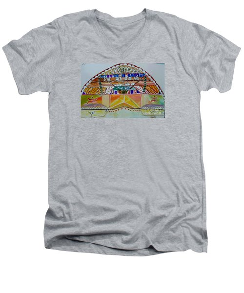 Joyous Entry Men's V-Neck T-Shirt