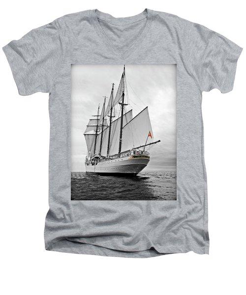 Juan Sebastian De Elcano In Its World Wild Travel Men's V-Neck T-Shirt