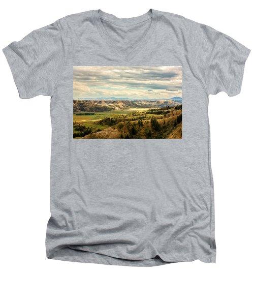 Judith River Breaks Men's V-Neck T-Shirt