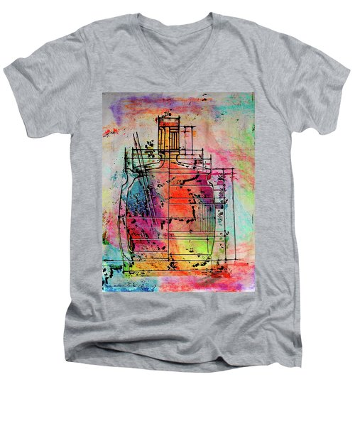 Jug Drawing Men's V-Neck T-Shirt