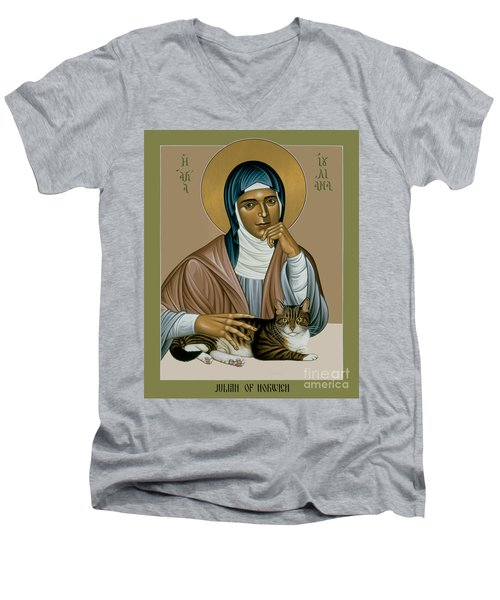 Julian Of Norwich - Rljon Men's V-Neck T-Shirt