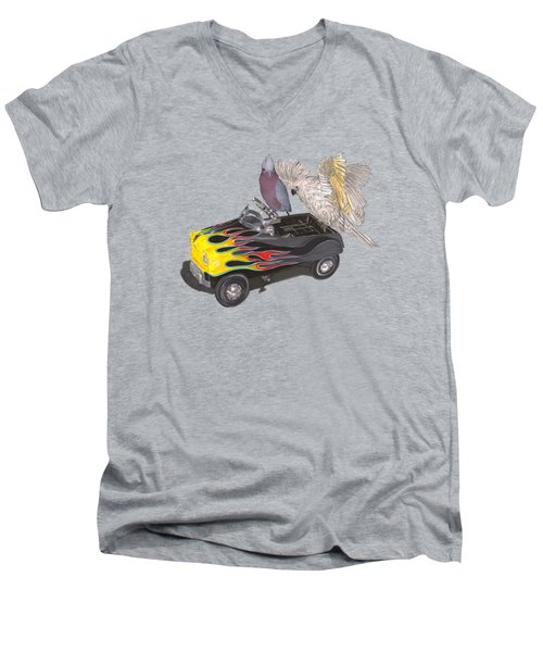 Julies Kids Men's V-Neck T-Shirt