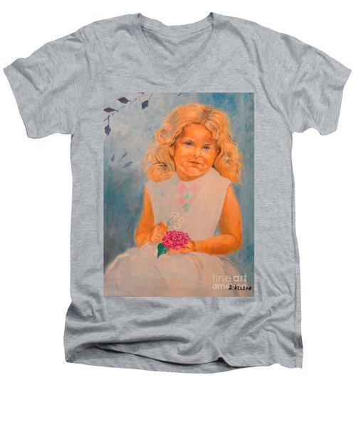 July - 50x69 Cm Men's V-Neck T-Shirt