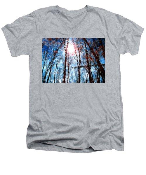Jumbled Waters Men's V-Neck T-Shirt