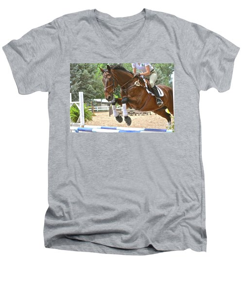 Jumper Men's V-Neck T-Shirt