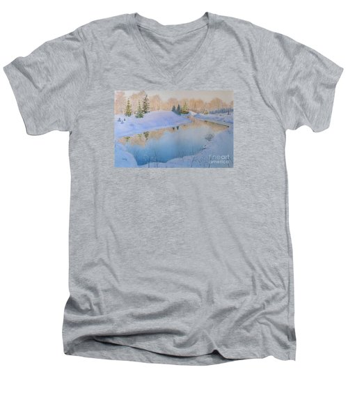 Junction Creek Men's V-Neck T-Shirt