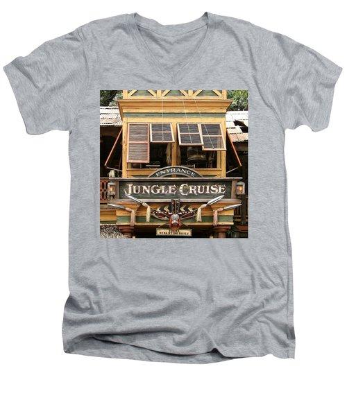 Jungle Cruise - Disneyland Men's V-Neck T-Shirt