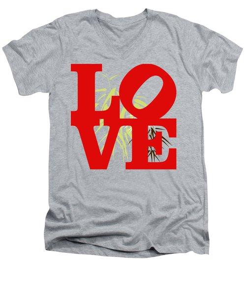 Jungle Love Tee Men's V-Neck T-Shirt