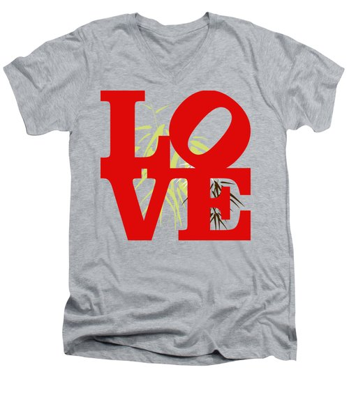 Jungle Love Tee Men's V-Neck T-Shirt