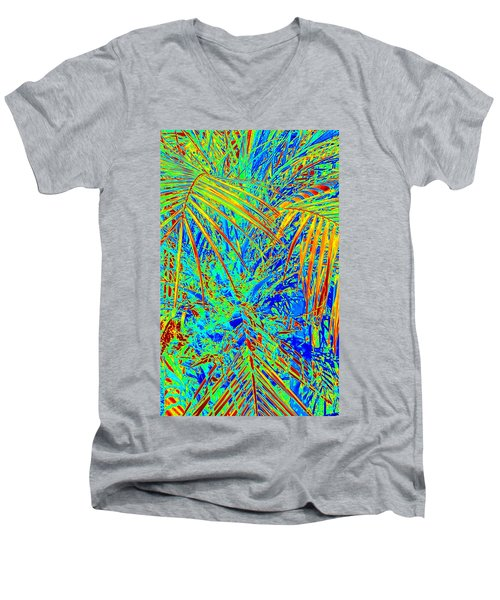 Jungle Vibe Men's V-Neck T-Shirt