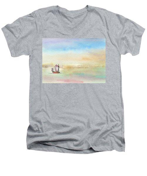 Junk Sailing Men's V-Neck T-Shirt