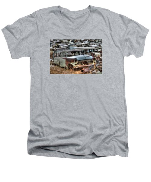Junkyard Dog Men's V-Neck T-Shirt