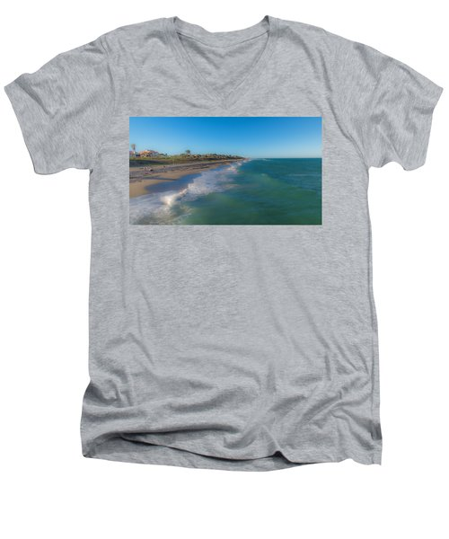 Juno Beach Men's V-Neck T-Shirt