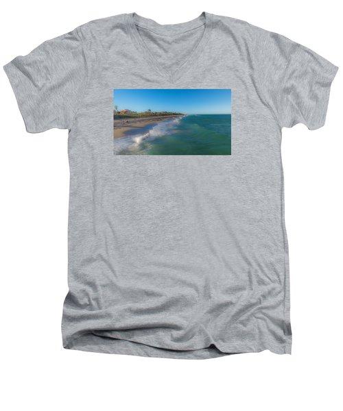 Juno Beach Men's V-Neck T-Shirt