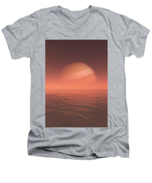 Jupiter Men's V-Neck T-Shirt