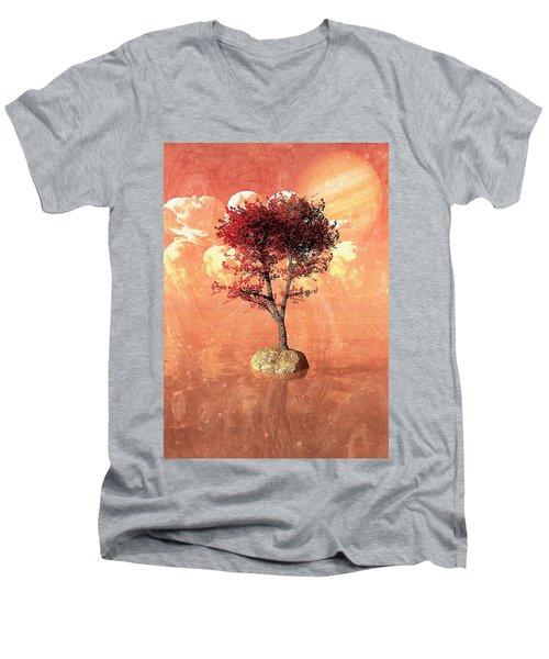 Jupiter Rising Men's V-Neck T-Shirt