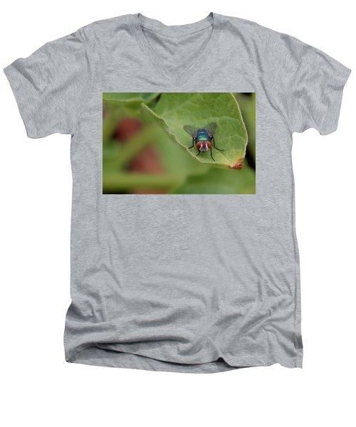 Just A Fly Men's V-Neck T-Shirt