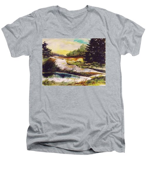 Just After Daybreak Men's V-Neck T-Shirt