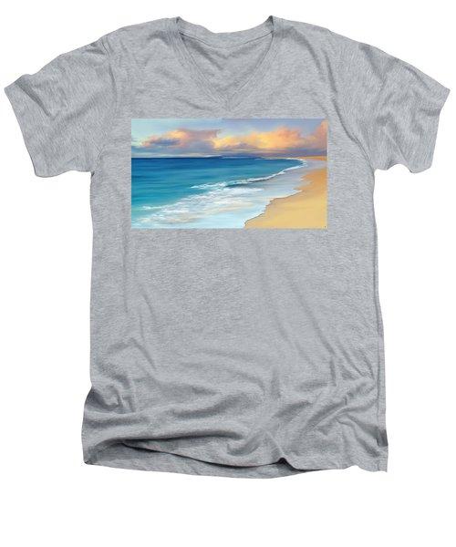 Just Beachy Men's V-Neck T-Shirt