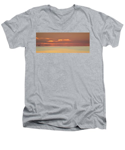Just Before Sunrise 2  Men's V-Neck T-Shirt