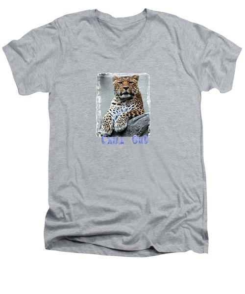 Just Chillin' Men's V-Neck T-Shirt