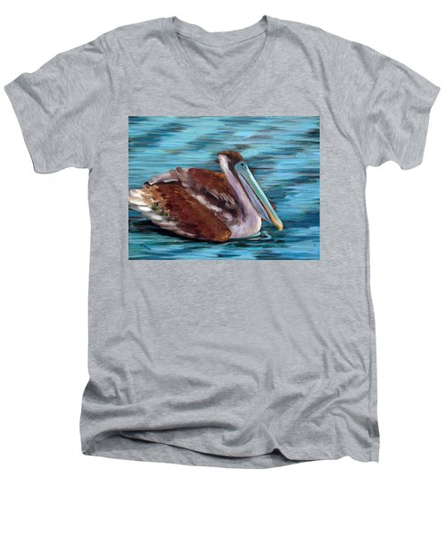 Just Cruisin Men's V-Neck T-Shirt