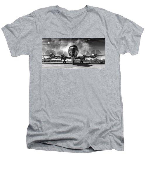 Just Getting Warmed Up Men's V-Neck T-Shirt