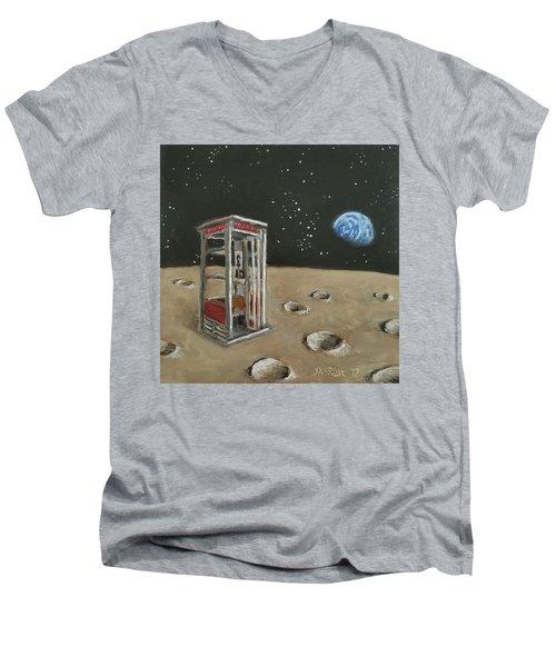 Just In Case  Men's V-Neck T-Shirt