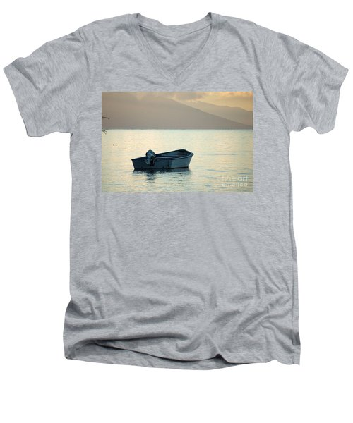 Just Off Molokai Men's V-Neck T-Shirt