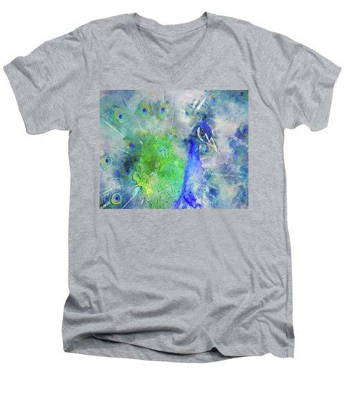 Just Plain Fancy Men's V-Neck T-Shirt