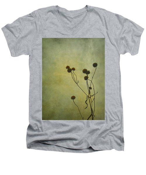 Just Weeds . . . Men's V-Neck T-Shirt by Judi Bagwell