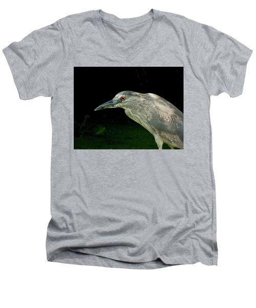 Juvey Men's V-Neck T-Shirt by Kimo Fernandez